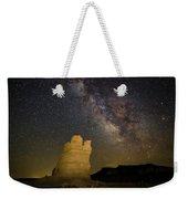 Milky Way Over Castle Rock Weekender Tote Bag
