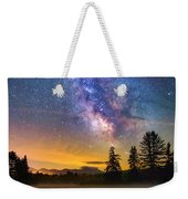 Milky Way Over Coffin Pond  Weekender Tote Bag