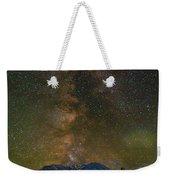 Milky Way Over Mount St Helens Weekender Tote Bag