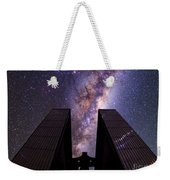 Milky Way Over New Technology Telescope Weekender Tote Bag