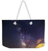 Milky Way Over The Boardwalk Weekender Tote Bag