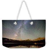 Milky Way Over The Colorado Indian Peaks Weekender Tote Bag
