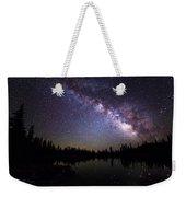 Milky Way Over The Lake Weekender Tote Bag