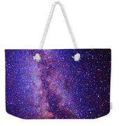 Milky Way Splendor Vertical Take Weekender Tote Bag