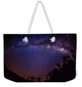 Milky Way Splendor Weekender Tote Bag