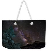Milkyway At The Mountains Weekender Tote Bag