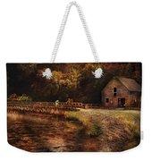 Mill - The Village Edge Weekender Tote Bag by Mike Savad