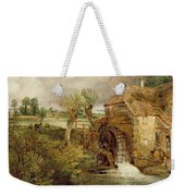 Mill At Gillingham - Dorset Weekender Tote Bag by John Constable