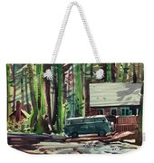 Mill Creek Camp Weekender Tote Bag