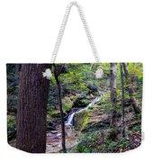 Mill Creek Falls Weekender Tote Bag