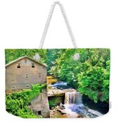Mill Creek Park Lanterman's Mill And Covered Bridge Weekender Tote Bag