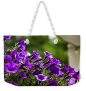 Mill Hill Inn Petunias Weekender Tote Bag