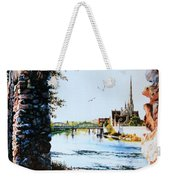 Mill Race Look-out Weekender Tote Bag