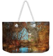 Mill - Walnford, Nj - Walnford Mill Weekender Tote Bag