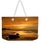 Mill Way Beach Sunset Weekender Tote Bag