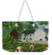 Milldale In Staffordshire Weekender Tote Bag