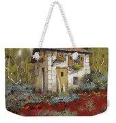 Mille Papaveri Weekender Tote Bag by Guido Borelli