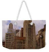 Millenium Park And Bench 1 Weekender Tote Bag