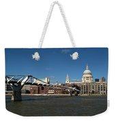 Millennium Bridge And St Pauls Weekender Tote Bag