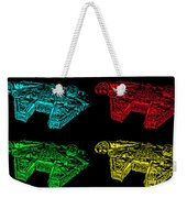Millennium Falcon Poster Weekender Tote Bag