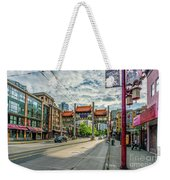 Millennium Gate In Vancouver Chinatown, Canada Weekender Tote Bag