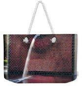 Millennium Park Fountain Chicago Weekender Tote Bag