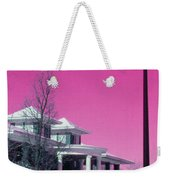 Miller Park Pavilion False Color Ir Number 1 Weekender Tote Bag