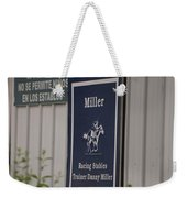 Miller Stable Weekender Tote Bag