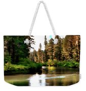 Millers Creek Painterly Weekender Tote Bag