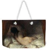 Millet: Reclining Nude Weekender Tote Bag