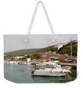 Milos On Agistri Island Weekender Tote Bag
