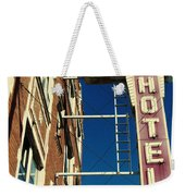 Milshire Hotel Chicago Weekender Tote Bag