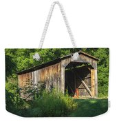 Milton Dye Covered Bridge  Weekender Tote Bag