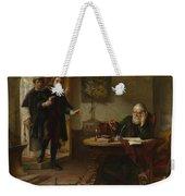 Milton Visiting Imprisoned Galileo Weekender Tote Bag