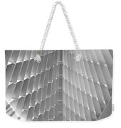 Milwaukee Art Museum Interior B-w Weekender Tote Bag