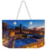 Milwaukee Evening Glimmer Weekender Tote Bag