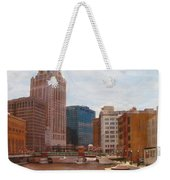Milwaukee River View Weekender Tote Bag