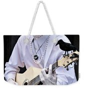 Mime And Guitar Weekender Tote Bag