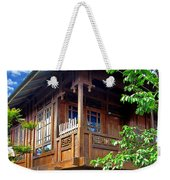 Minahasa Traditional Home 2 Weekender Tote Bag