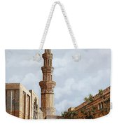 Minareto E Mercato Weekender Tote Bag