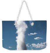 Old Faithful Eruption Weekender Tote Bag by Mae Wertz