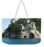 Miner's Castle On The Water Weekender Tote Bag