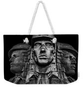 Miners In The Dark Weekender Tote Bag