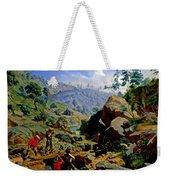 Miners In The Sierras Weekender Tote Bag