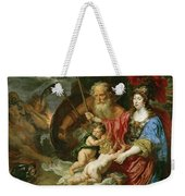 Minerva And Saturn Protecting Art And Science From Envy And Lies  Weekender Tote Bag