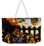 Minerva Chasing The Vices From The Garden Of Virtue 1502 Weekender Tote Bag
