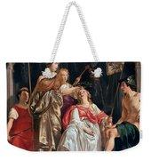 Minerva Crowns The Maid Of Leiden Weekender Tote Bag