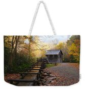 Mingus Mill Fall Color Great Smoky Mountains National Park Weekender Tote Bag