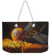 Mini Helmet Commemorative Edition Weekender Tote Bag