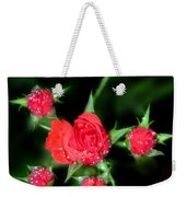 Mini Roses Weekender Tote Bag